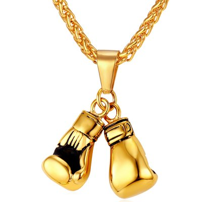 U7-Brand-Men-Necklace-Pendant-Gold-Color-Stainless-Steel-Chain-Pair-Boxing-Glove-Charm-Fashion-Sport_Gold-color